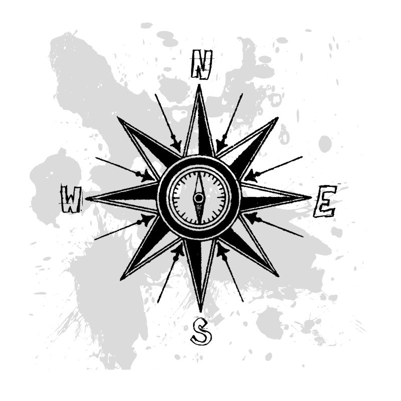 Splatter Compass