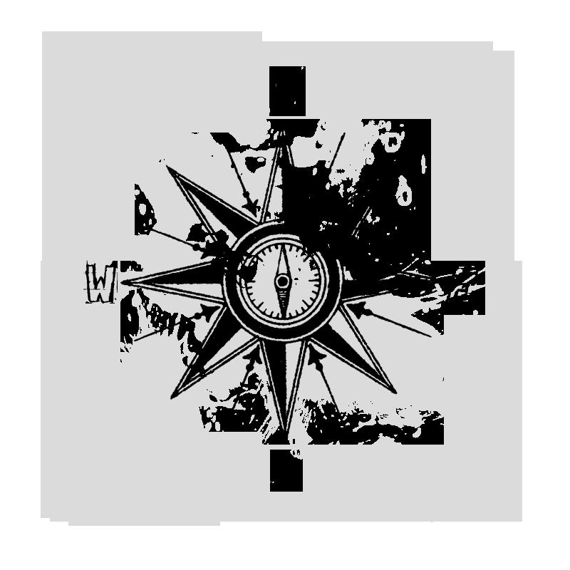 Splatter Compass